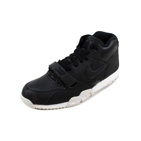 Nike Men's Air Trainer 1 Mid Black/Black-White 317554-005