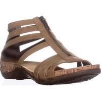 Bearpaw Layla Strappy Comfort Gladiator Sandals, Tan
