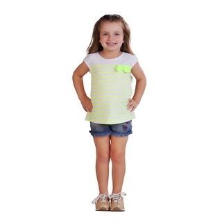 Pulla Bulla Toddler Girl Tank Top Striped Sleeveless Shirt