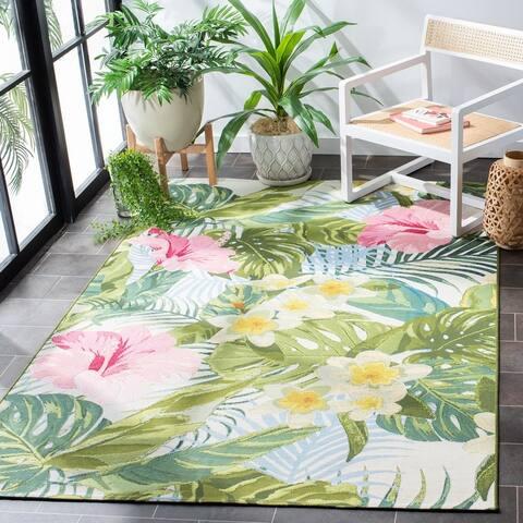 Safavieh Barbados Zalja Tropical Indoor/ Outdoor Rug