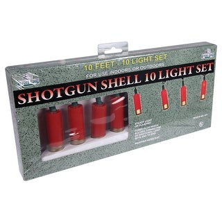 Rivers edge 431 rivers edge 10 pc shotgun led shell decorative party lights