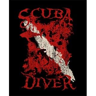 Amphibious Outfitters T-Shirt - Scuba Diver - Black
