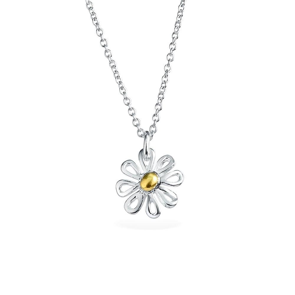 Daisy Flower Pendant Charm