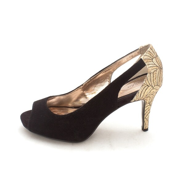 Alfani Womens Kiley Leather Open Toe Special Occasion Slingback Sandals - 8