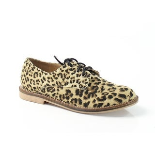 Luichiny NEW Brown Shoes Size 5M Animal-Print Fashion Sneakers