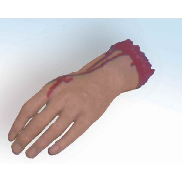 Bloody Body Part Severed Hand Halloween Costume Prop