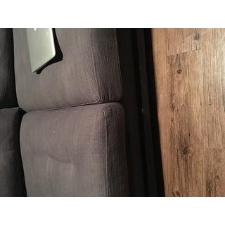 Creston 94-inch Smoke Linen Sofa