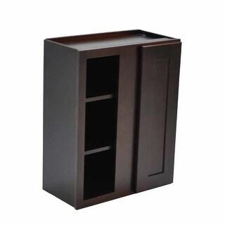 "Design House 569228 Brookings 24"" Wide x 36"" High Single Door Kitchen Cabinet - ESPRESSO"