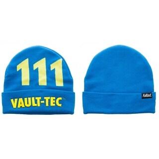 Fallout Vault-Tec Cuffed Knit Beanie