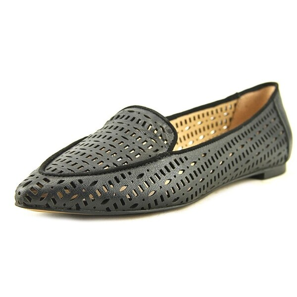 ea8ee948742 Shop Franco Sarto Soho Women Pointed Toe Leather Black Loafer - Free ...