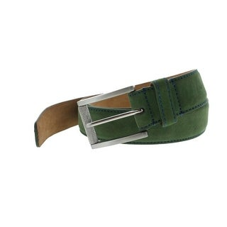 Robert Graham Mens Laurel Leather Buckle Casual Belt