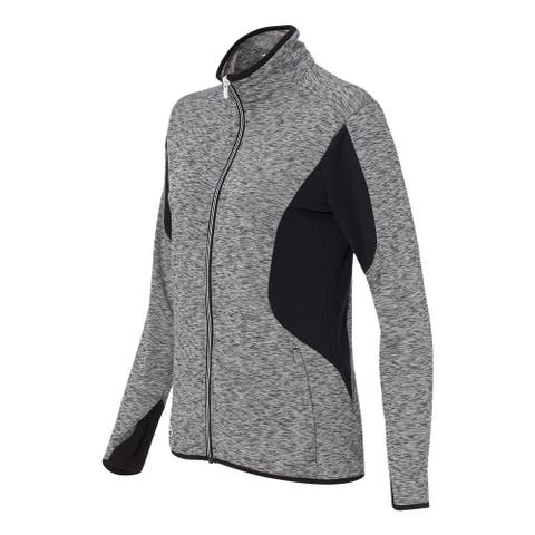 adidas Women's Space Dyed Full-Zip Jacket