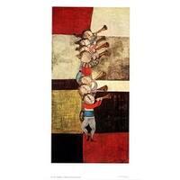''Fanfare'' by Graciela Rodo Boulanger Latino Art Print (36 x 20.75 in.)