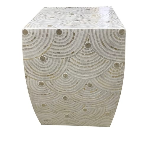 Darby Mosaic Square Stool