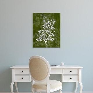 Easy Art Prints James Burghardt's 'Jewel Ferns III' Premium Canvas Art