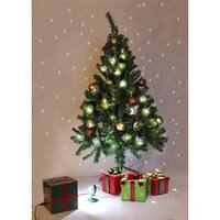 Magical White Falling Snow Christmas Tree Light Flurries System - CLEAR