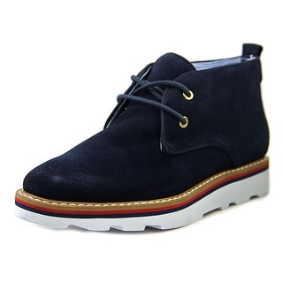 Tommy Hilfiger Prep Round Toe Suede Chukka Boot