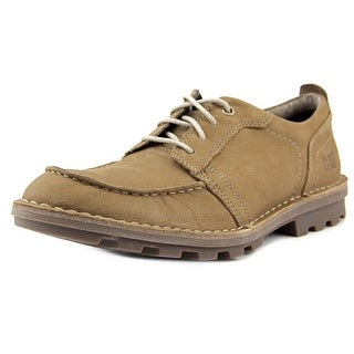 Caterpillar Wagner Men Moc Toe Leather Brown Oxford