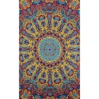 "3D Tapestry Wall Art With 3D Glasses - Starburst - 60"" X 90"""