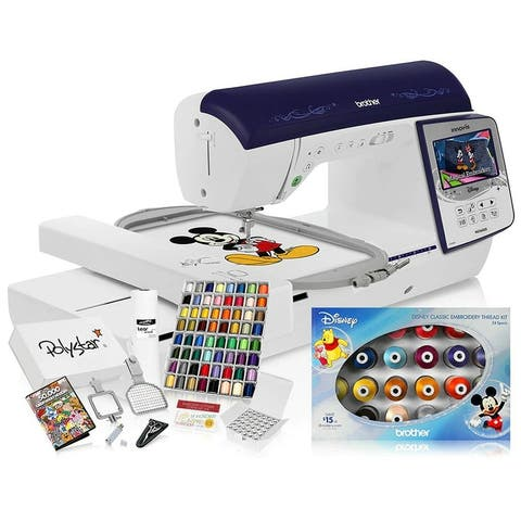Brother Innov-ís NQ3600D Sewing and Disney Embroidery Machine w/ Grand Slam Embroidery Package