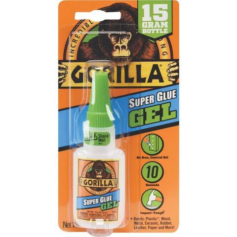 Gorilla 15G Super Glue Gel