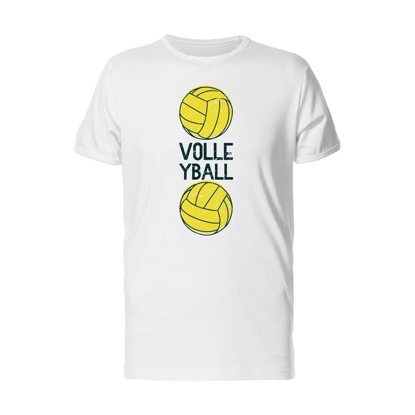 e579c666e7 Volleyball Two Balls Tee Men's -Image by Shutterstock