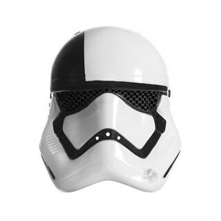 Rubies SW VIII Executioner Trooper Child 1/2 Mask - WHITE/BLACK