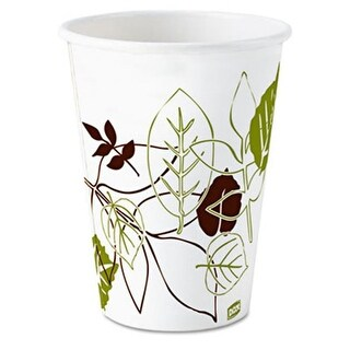 Dixie 2338PATH Pathways Paper Hot Cups 8 oz 1000-Carton