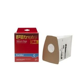 Filtrete 67711 Type Eureka C Vacuum Bag, 3 / Pack