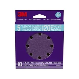 "3M 88523NA-9-B Pro Grade Sanding Discs, 5"", 120 Grit"