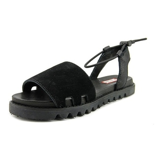 Hunter Original Sandal Slide Women  Open-Toe Leather  Sport Sandal
