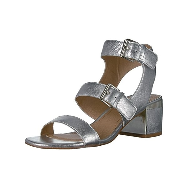 Tahari Womens Dalton Dress Sandals Leather Open Toe