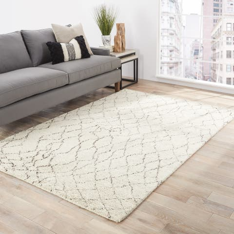 Antalya Hand-Knotted Geometric Area Rug