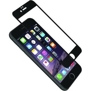 Cygnett CY1730CPTGL Cygnett AeroCurve Tempered Glass Aluminium Border iPhone 6 - Black Black, Clear - iPhone