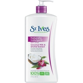 St. Ives Naturally Indulgent Body Lotion Coconut Milk & Orchid Extract 21 oz
