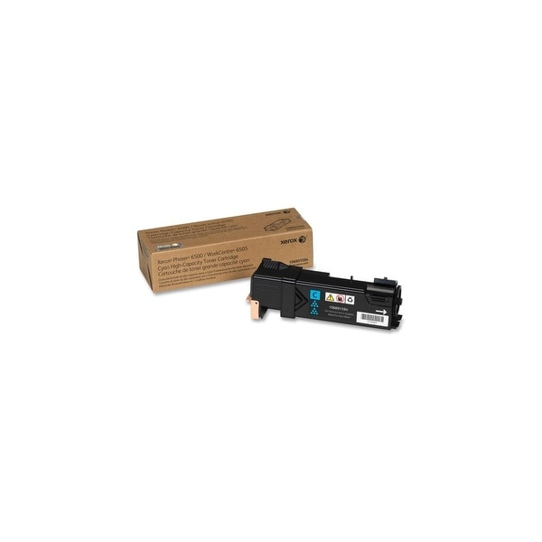 Xerox 106R01594 Xerox High Capacity Toner Cartridge - Cyan - Laser - 2500 Page - 1 Each