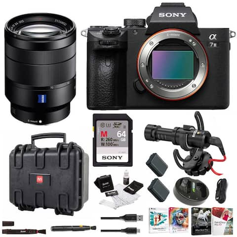 Sony a7 III Full Frame Mirrorless Camera with 24-70mm Lens Bundle