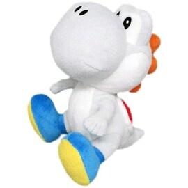 Nintendo 6-inch Super Mario White Yoshi Plush Toy