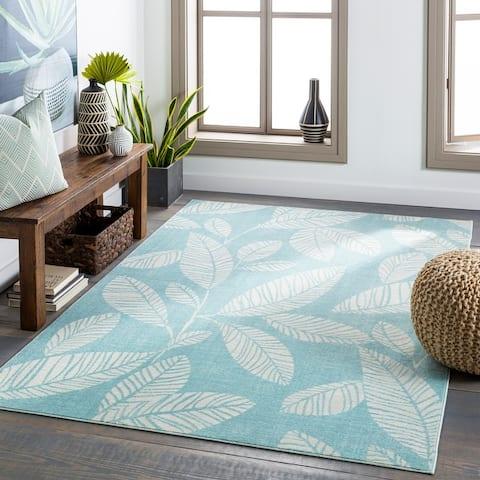 Sookie Indoor/ Outdoor Tropical Area Rug