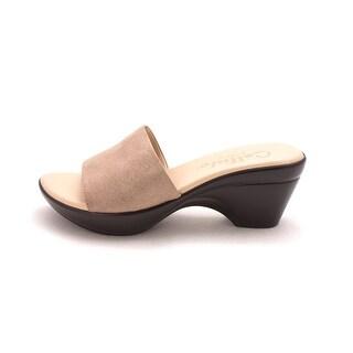 Callisto Womens Lima Open Toe Casual Platform Sandals