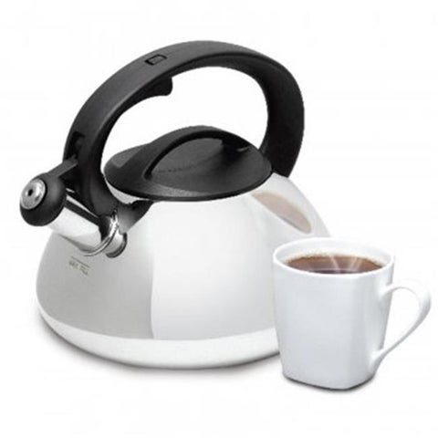 Gibson 74265.02 Mr Coffee Harpwell Whistling Tea Kettle, 2-Qt.