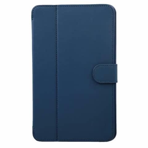 Verizon OEM Folio Case for Samsung Galaxy Tab E 8-inch - Navy Blue