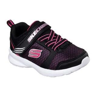 Skechers 82099N BKHP Girl's Toddler SKECH - STEPZ Sneaker