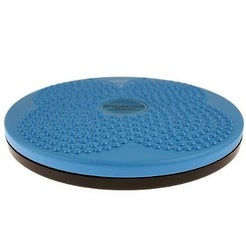 Isokinetics Inc. Brand Twist Board - For Fitness and Exercise - Choice of Blue or Black - 10""