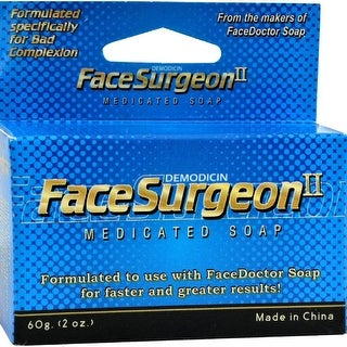 Face Doctor - Face Surgeon Ii Medicated Soap ( 1 - 2 OZ)
