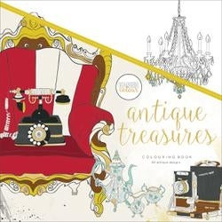 Antique Treasures - Kaisercolour Perfect Bound Coloring Book