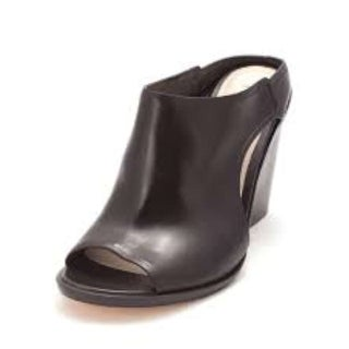 Cole Haan Womens 14A4158 Open Toe Mules Black Size 6.0