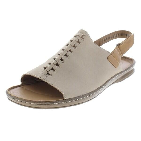 Shop Clarks Womens Sarla Forte Slingback Sandals Casual Peep