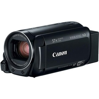 Canon 1958C002 VIXIA HF R82 3.28 MP Camcorder with 3 in. LCD Panel