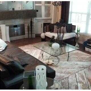 Persian Rugs Rustic Wood Floor Beige Area Rug 7 10 X 10 6